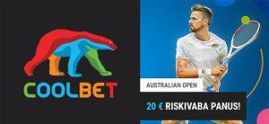 Coolbet - Austraalia lahtised 2020 riskivaba panus