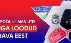 Liverpool vs Manchester United – Iga värav toob €5 tasuta panuse