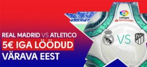 Olybet - Madrid derby tasuta panused