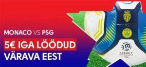 Olybet - Monaco vs PSG tasuta panused