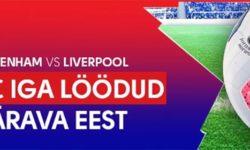 Tottenham vs Liverpool Olybet'is – iga värava eest €5 tasuta panus