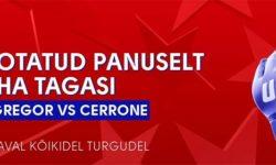 UFC 246 McGregor vs Cerrone riskivaba panustamine Olybet'is