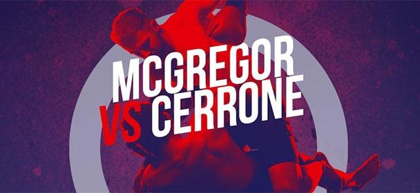 Optibet - McGregor vs Cerrone riskivabad panused