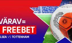 Chelsea vs Tottenham Olybet'is – iga värava eest €5 tasuta panus