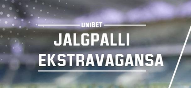 Unibet - tasuta jalgpalli ennustusmäng jackpot €25 000