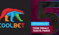 Eesti jalgpalli panused Coolbet'is – iga nädal €5 tasuta panus
