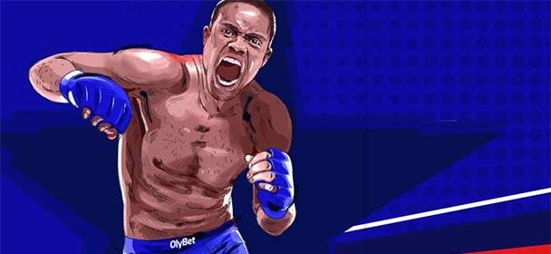 Olybet - UFC Fight Night panusekindlustus