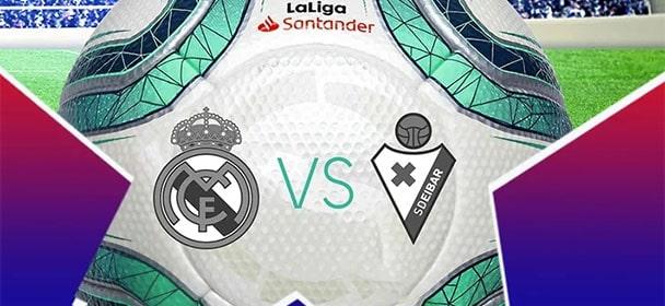 Olybet - La Liga Real Madrid vs Eibar freebetid