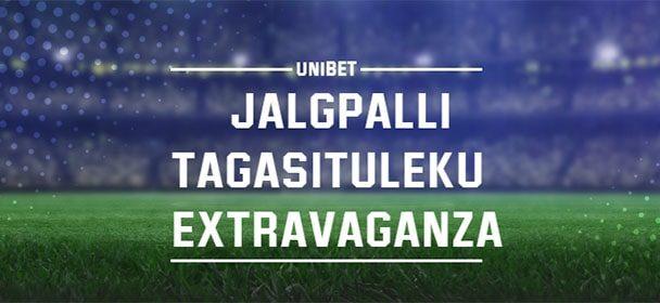 Unibet'is tasuta jalgpalli ennustusmäng – võida 25 000€ jackpot
