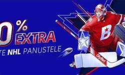 Olybet'i kihlveokontoris NHL panustajatele iga nädal €100 boonus