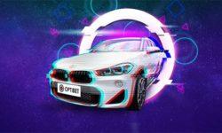 Optibet'i põnevad elamused – Võida BMW X2 linnamaastur
