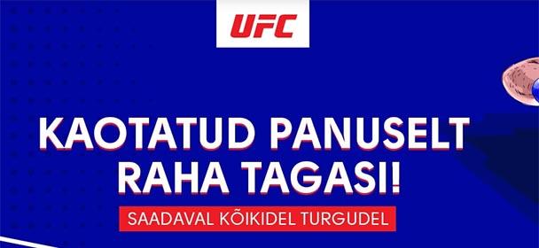 Olybet - UFC 255 raha tagasi pakkumine