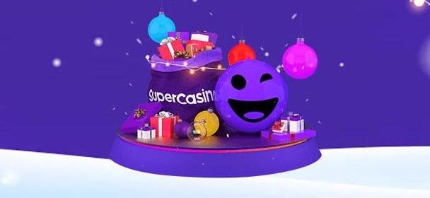 Supercasino jõulukalender 2020