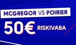 UFC 257 McGregor vs Poirier Olybet'is – €50 riskivaba panus