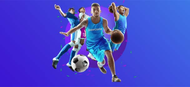 Supercasino - jalgpalli ja korvpalli boonus