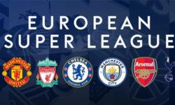 Euroopa jalgpalli Superliiga sünd ja kiire läbikukkumine