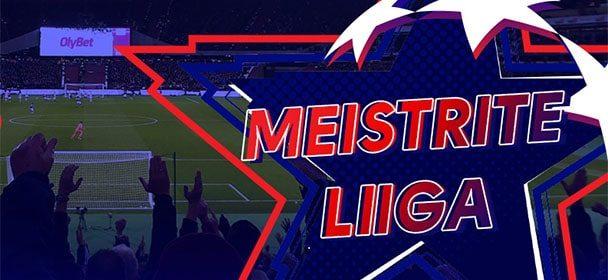 Olybet'is Meistrite Liiga 2021 veerandfinaali võimendatud koefitsient
