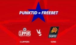 NBA Olybet'is Clippers vs Suns punktide eest tasuta panused