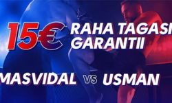 Olybet'is UFC 261 Masvidal vs Usman – €15 raha tagasi garantii
