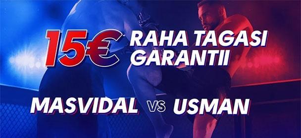 Olybet - UFC 261 raha tagasi garantii