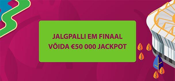Coolbet - Jalgpalli EM 2021 finaali tasuta ennustusmäng 50 000 eurot