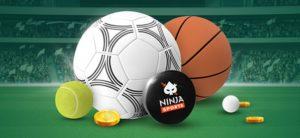 Ninja Casino - Spordinädala 10 eurone riskivaba panus