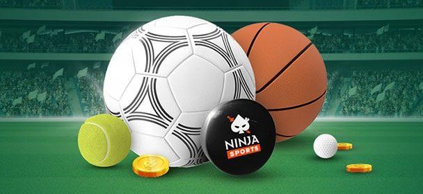 Sportlik nädal Ninja Casino's – €10 kindlustatud panus