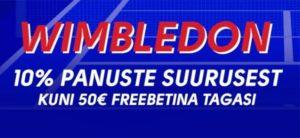 Olybet - Wimbledon 2021 tasuta panus