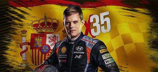 WRC Hispaania ralli 2021 Betsafe's – võta €35 ja tasuta spinne