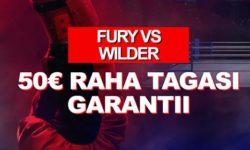 Olybet Fury vs Wilder – uuele kliendile €50 panus riskivabalt